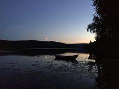 Mylla vann i Nordmarka. Sen Augustkveld.
