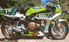(1981) Kawasaki KR1000 - Cafe Racer