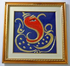 24C Gold Leaf 17 x 17 Tanjore Painting Classical by XPERTARTS,$129.99
