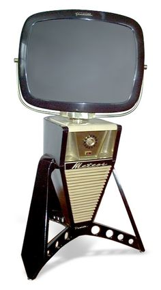 Space-age Predicta TVs from Telstar. They make several really cool models.