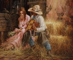 Discover evocative western paintings by Larry Fanning. His western artwork is offered for sale and copyright licensing at our location near Denver, CO. Gaucho, Westerns, American Wallpaper, Cowboy Pictures, Cowboy Pics, Cowboy Song, Cowboy Images, Cowboy Western, Creation Photo