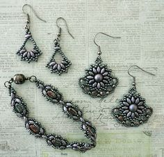 Linda's Crafty Inspirations: Mary Ann Bracelet Set