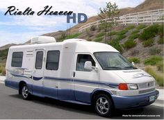 2004 Winnebago Rialta 22HD, Class B RV For Sale in Yucaipa, California   Rialta Heaven 04HD25K-617   RVT.com - 101599 with Video Rv Campers, Camper Trailers, Camper Van, Trailerable Houseboats, Basement Movie Room, Used Motorhomes, Class B Rv, Cool Vans, Rv For Sale