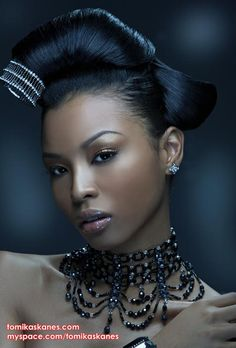 Tomika Skanes - one of the most famous Blasian models - she's so pretty