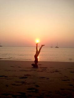 What a nice yoga pose! You'll be able to do the same after your 200 hr Yoga Teacher Training Course in Goa. Have a look on this http://www.shivashaktiyoga.org/ or call us on +91 77570 24412