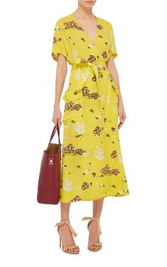 Stephanie Silk Printed Dress by A.L.C. | Moda Operandi