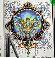 #Repost @sseungei 2016. 9. 23. . SUMMER NIGHTS [ No.03 ] In Progress.. 컬러링 도구는 태그를 참고하세요. Colored pencil see the tag. . . #SOMMARNATT #SUMMERNIGHTS #HannaKarlzon #컬러링북 #ColoringBook #ColoringArt #coluring #adultcoloringbook #mycreativeescape #jardimsecreto #스테들러카라트아쿠아렐 #STAEDTLER #Karat #Aquarell #ColorPencil #STAEDTLERKaratAquarellColorPencil #책스타그램 #취미#일상 #힐링