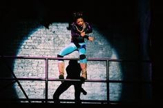 Renee Elise Goldsberry in RENT, being the last Mimi Marquez on Broadway
