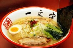 函館市 函館麺や一文字 総本店 塩ラーメン