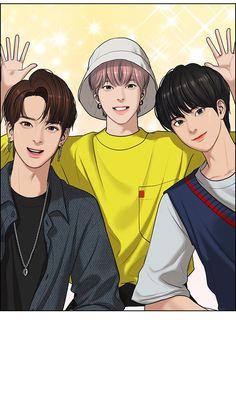 Cute Anime Boy, Anime Love, Manhwa, Korean Illustration, Cute Couple Drawings, Handsome Anime Guys, Webtoon Comics, True Beauty, Caricature