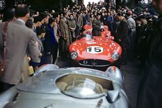 Maserati must have mistaken Le Mans for a Concours d'Elegance when making their 300S in 1955