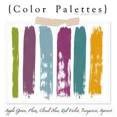color palette with plum   Color Palette scheme - apple green, plum, cloud blue, ...   cOLouR ...