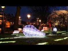 Amsterdam Light Festival: A timelapse of the Illuminade - YouTube