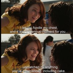 Easy A Tv Show Quotes, Movie Quotes, Movies Showing, Movies And Tv Shows, Chick Flicks, Christian Bale, Disney Memes, Meaningful Words, Great Movies