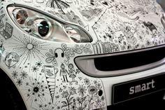 Cool Smart Car! Illustrations by Johanna Basford