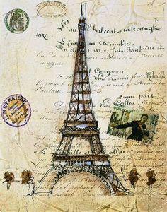 DECOUPAGE PARIS VINTAGE | Aprender manualidades es facilisimo.com