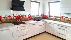 Panele szklane do kuchni Wrocław