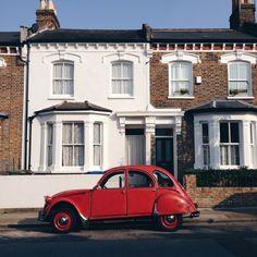 Red vintage car | VSCO | martynaprzybysz