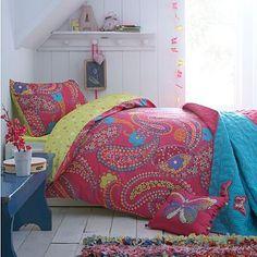 Pink 'Ella' paisley bedding set - Duvet covers & pillow cases - Bedding - Home & furniture -