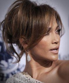Jennifer Lopez Hairstyles: Modern Loose Bun for Any Face Shape Straight Layered Hair, Long Layered Haircuts, Haircuts With Bangs, Cool Haircuts, Hairstyles Haircuts, Trendy Hairstyles, Straight Hairstyles, Blonde Hair Models, Long Hair Cuts