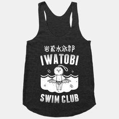 Iwatobi Swim Club   HUMAN   T-Shirts, Tanks, Sweatshirts and Hoodies