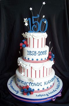 Celebrating the 150th birthday of Uniontown, Kansas.