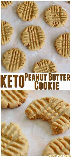 Keto Peanut Butter Cookies or low carb peanut butter cookies are the perfect treat for anyone craving a cookie. Keto Peanut Butter Cookies or low carb peanut butter cookies are the perfect treat for anyone craving a cookie. Keto Foods, Ketogenic Recipes, Low Carb Recipes, Pasta Recipes, Dinner Recipes, Pescatarian Recipes, Casserole Recipes, Soup Recipes, Desert Recipes