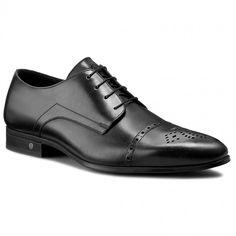 Półbuty JOOP! - Philemon 4140001816 Black 900 Pep Guardiola Style, Men Dress, Dress Shoes, Derby, Oxford Shoes, Lace Up, Black, Fashion, Moda