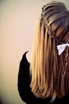 Braids that are as innovative as this almost makes me want to try and braid my hair.