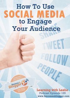125 How To Use Social Media To Engage Your Audience services Social Media Trends, Social Media Marketing, Web Technology, Starting Your Own Business, Digital Media, Being Used, Insight, Blogging, Seo Services