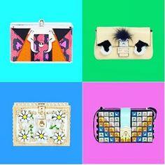 CLUTCH | #OBSESSED | Going Clutch the handbag to have ....for all seasons  #trendfortrendcom #clickandpublish #clutch #bag  #trend @salar_milano #rainbow #dolcegabbana #daisy #ss16 #fendi #fancy #paulacademartori #orange #fendi #fancy #fw15 #luisaviaroma #pic