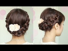 Try out BebeXo's Braided Crochet Stitch Updo Hair Tutorial to Get Your Look Party-Perfect