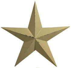 "40"" Painted Metal Barn Star from DutchCrafters Amish Furniture. 40"" barn star. Made in Ohio. Available in red, navy blue, white, burnt orange, black, hunter green, sage, and mustard. #barnstar #onhouse #decor #livingroom #metal #outdoor #wall #rustic #exterior #amish"