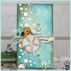 Tammy Tutterow | Explore Ocean Themed Card