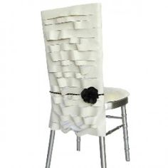 63 best chair covers images wedding chairs wedding. Black Bedroom Furniture Sets. Home Design Ideas