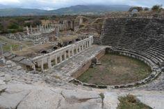 Aphrodisias, the theater