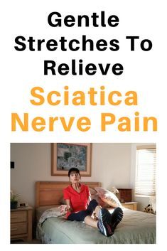 Try these sciatica exercises and stretches in the morning or throughout your day to ease some of that annoying sciatica nerve pain. Sciatic Nerve Exercises, Sciatic Nerve Relief, Sciatica Stretches, Sciatic Pain, Back Pain Exercises, Balance Exercises, Piriformis Syndrome, Hip Pain, Christians