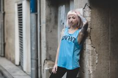 Opheliah lights up the streets wearing DVNT in this shoot with Matt Donaldson Photographer.