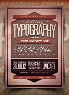 24 projetos tipográficos para inspiração | Criatives | Blog Design, Inspirações, Tutoriais, Web Design