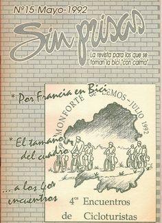 Rev. Sin Prisas, nº 15 (1992.05). Hª de ConBici