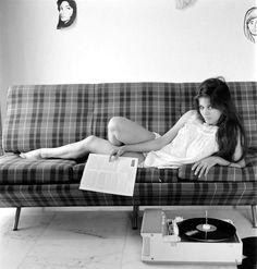 Claudia Cardinale: Italian actress (born with occasional films in Hollywood. Claudia Cardinale, Vinyl Music, Dj Music, Vinyl Records, Lps, Vinyl Junkies, Dj Booth, Italian Actress, Record Players