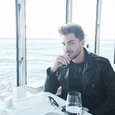 Stunning pic of Adam Lambert | Source: Adam Lambert instagram