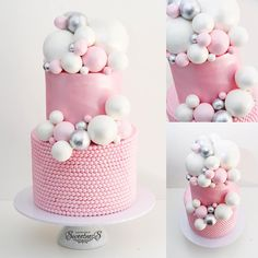 Bubblicious cake for a birthday :) Original gorgeous cake design by :) I fell in love with this cake design when I… Bubble Cake, Gorgeous Cakes, Amazing Cakes, Kreative Desserts, Chocolate Oreo Cake, Cake Blog, Cake Photography, Cake Trends, Savoury Cake