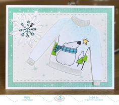 Hi everyone, Welcome to the Elizabeth Craft Designs Winter Sweater Blog Hop!  Today we have something special for you.  The Elizabeth Craft Designs Design Team have all been having so much fun playing with the Winter Sweater die set recently, so we decided to create a special blog hop to share all the amazing cards everyone has created using this set. Thie set can be used for many occasions … Christmas, winter, birthdays, male, female, kids, etc. Just change how you decorate the sweater! To…
