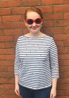 Catherine's Romy Top - Sewing pattern by Tilly and the Buttons