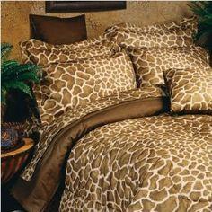 Giraffe Comforter set