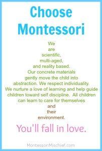 Montessori vs. Traditional: Let's Ditch This. - Montessori Mischief