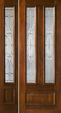 Cheap entry doors with side lights entry prehung eye for Cheap external doors