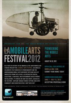 The LA Mobile Arts Festival 2012