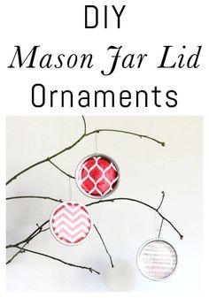DIY Mason jar lid or